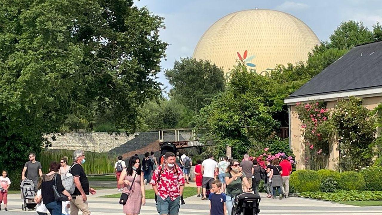 En juillet et août, 140.000 personnes ont visité le parc.