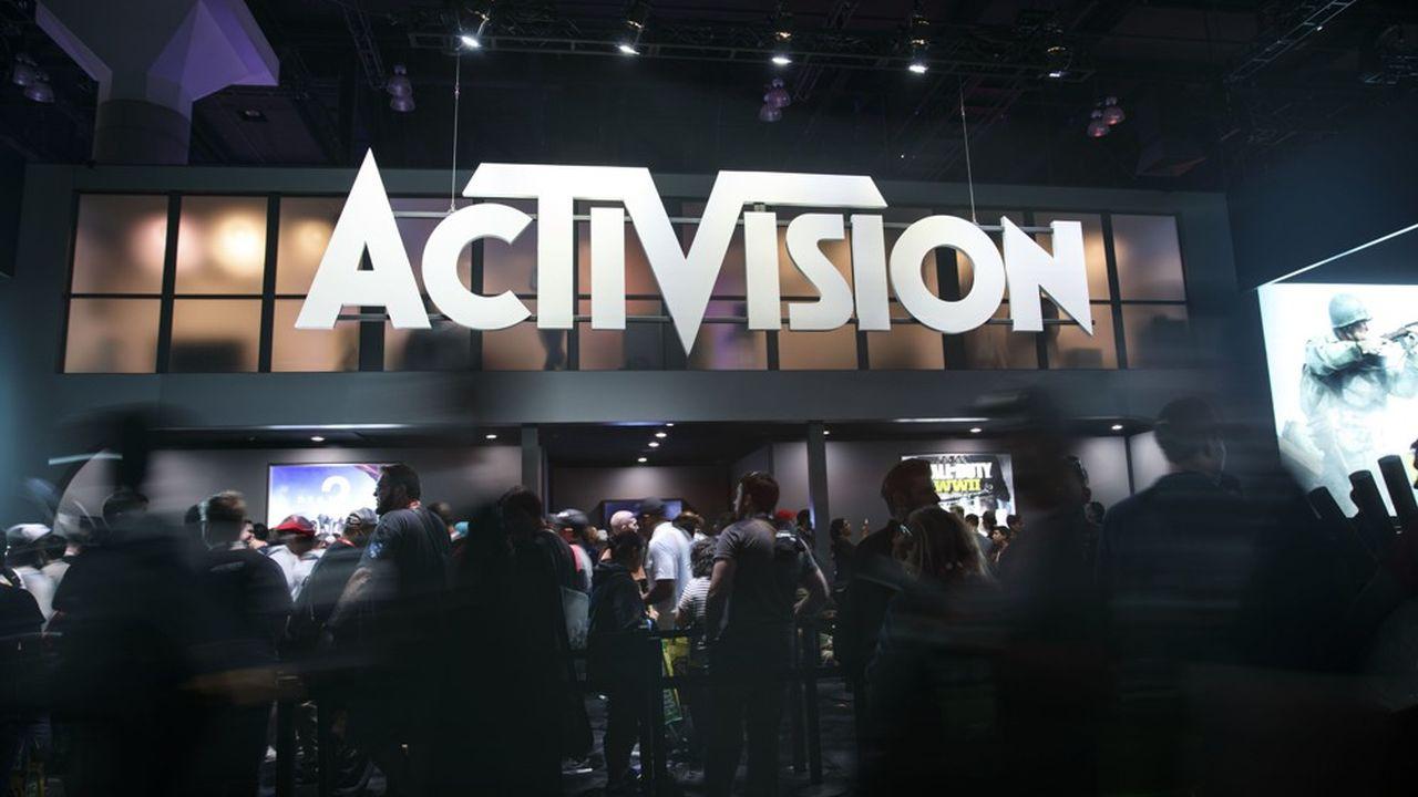 Aujourd'hui, la capitalisation boursière d'Activision Blizzard est légèrement inférieure à 60milliards de dollars.