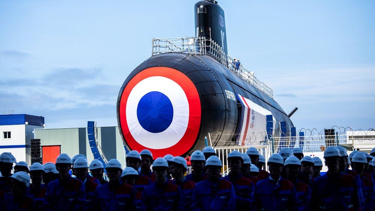 Le ministère des Armées défend la qualité des sous-marins proposés à l'Australie, qui sont basés sur la technologie française la plus récente