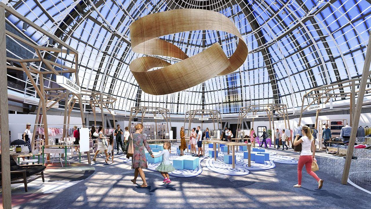 Le Printemps Haussmann, à Paris, inaugure mardi 21septembre un nouvel espace de 1.300 mètres carrés dédié à la seconde main.