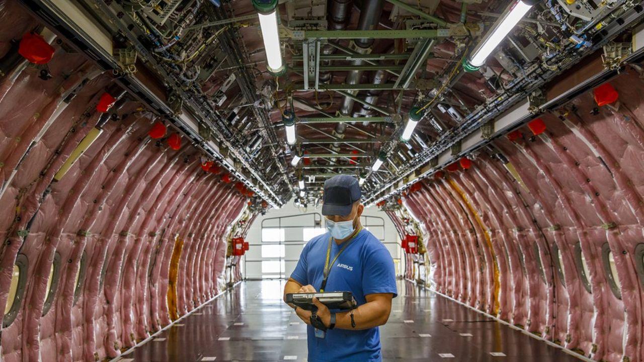 Airbus étudie trois projets d'avions à hydrogène, dont le premier pourrait voir le jour en 2035.