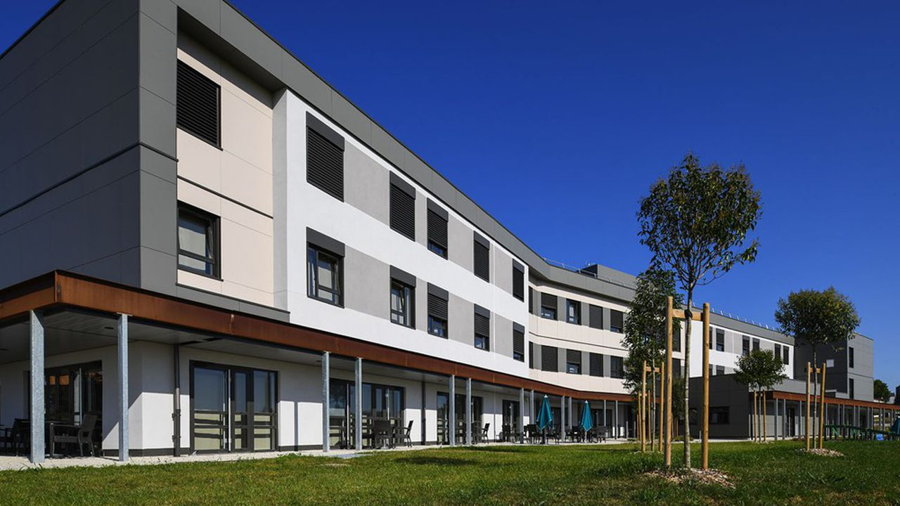 Une clinique d'Icade Santé à Saintes.