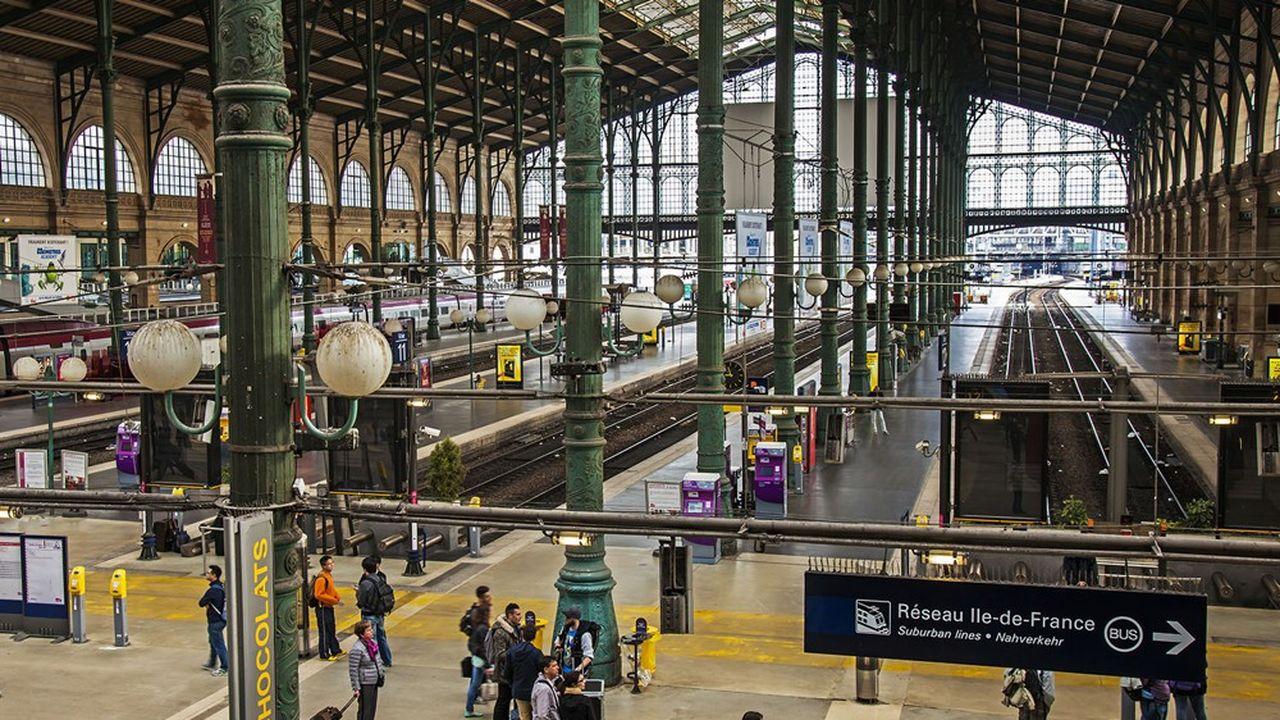 La gare du Nord sera l'un des points de passage principaux pour le public international des JO 2024.