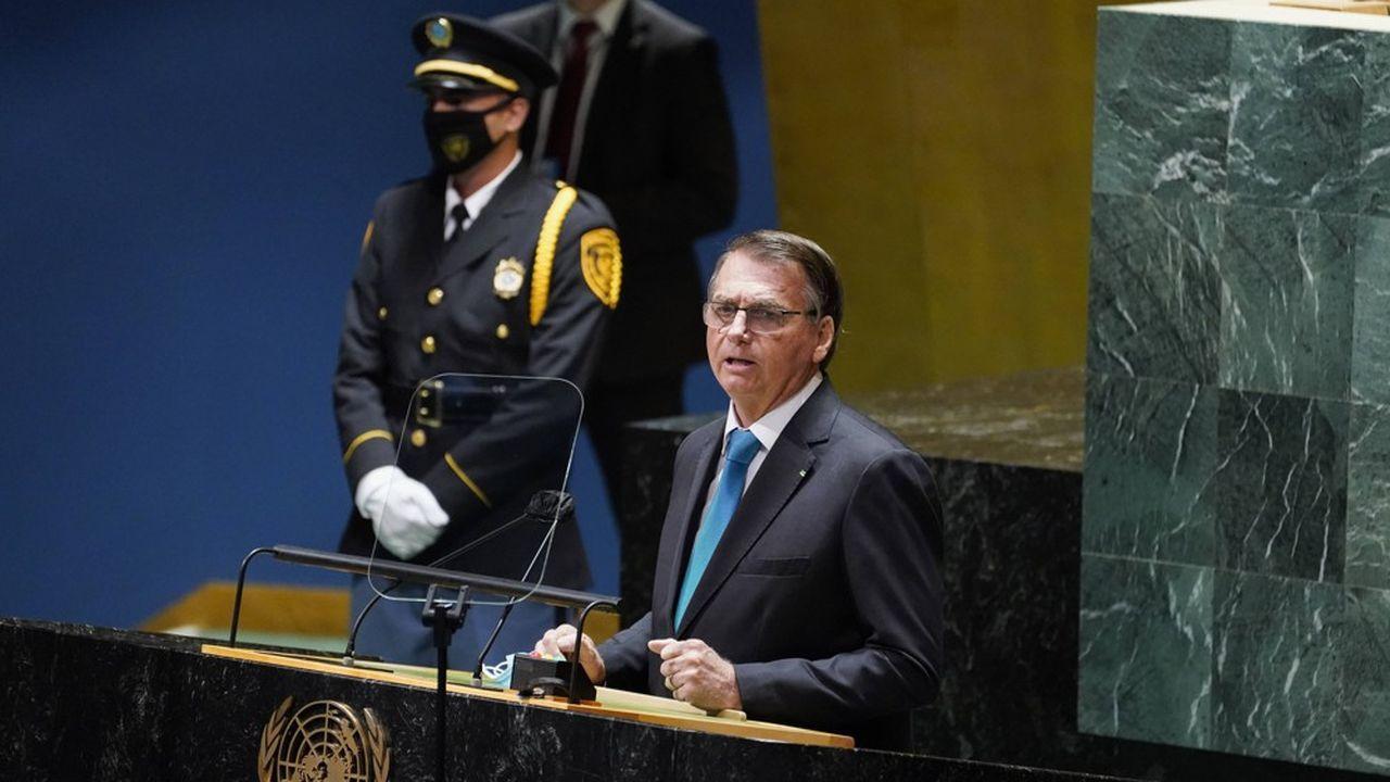 Dans le discours inaugural qu'il a prononcé à l'assemblée générale de l'ONU, Jair Bolsonaro a assuré qu'il était favorable à la vaccination mais opposé au passe sanitaire.