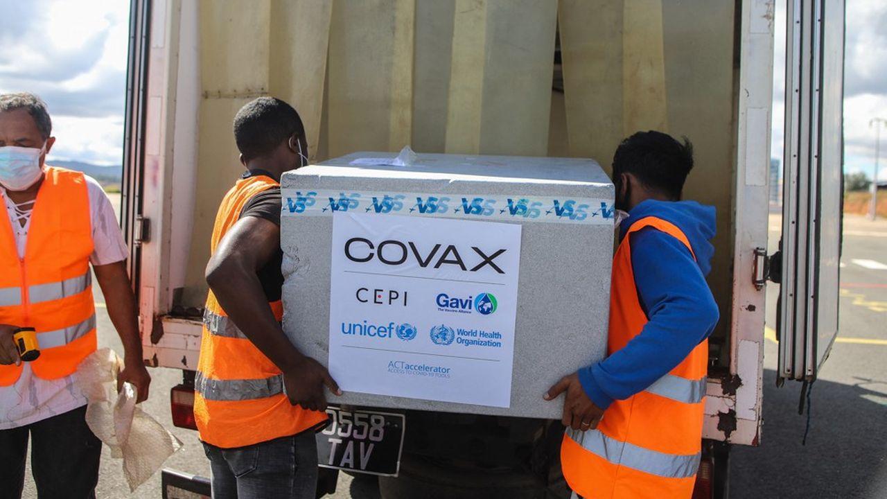 297millions de doses de vaccin ont d'ores et déjà été distribuées via Covax dans le monde.
