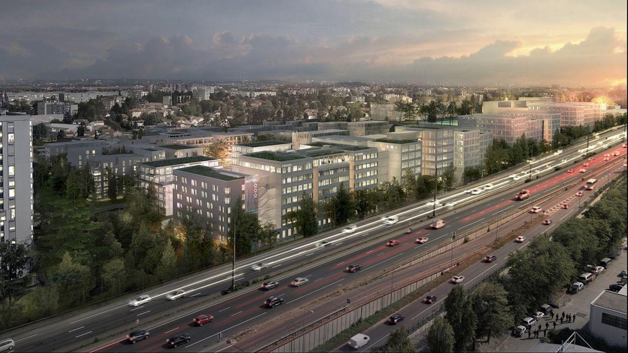 La ZAC développera 42.000 mètres carrés de surfaces tertiaires, d'activités et de services sur un site facilement accessible