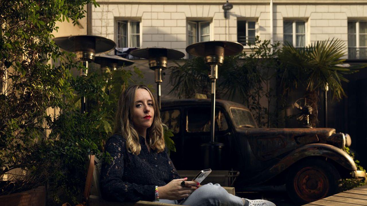 Anne Boistard, derrière le compte Instagram Balance Ton Agency, était le 22septembre au Tribunal de Paris. Elle est attaquée pour diffamation publique par deux agences épinglées sur le compte. Ici, au Kube Hotel Paris.