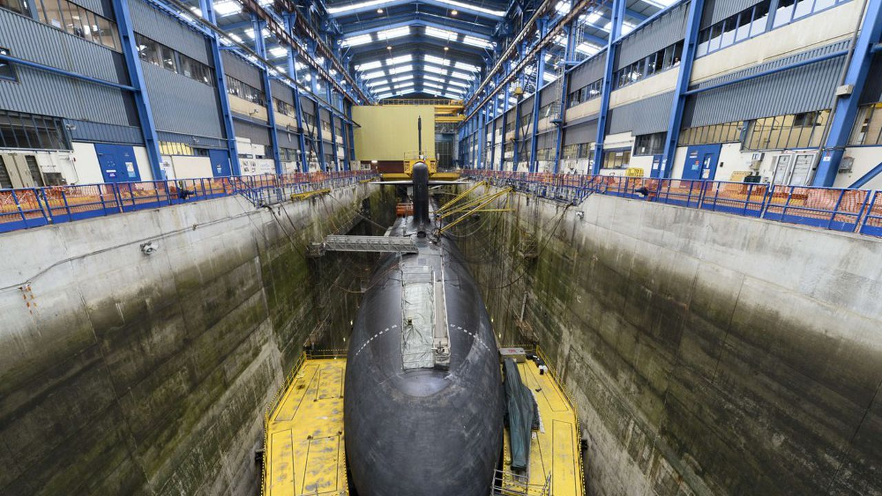 Le premier sous-marin destiné à l'Australie devait entrer en production en 2023.