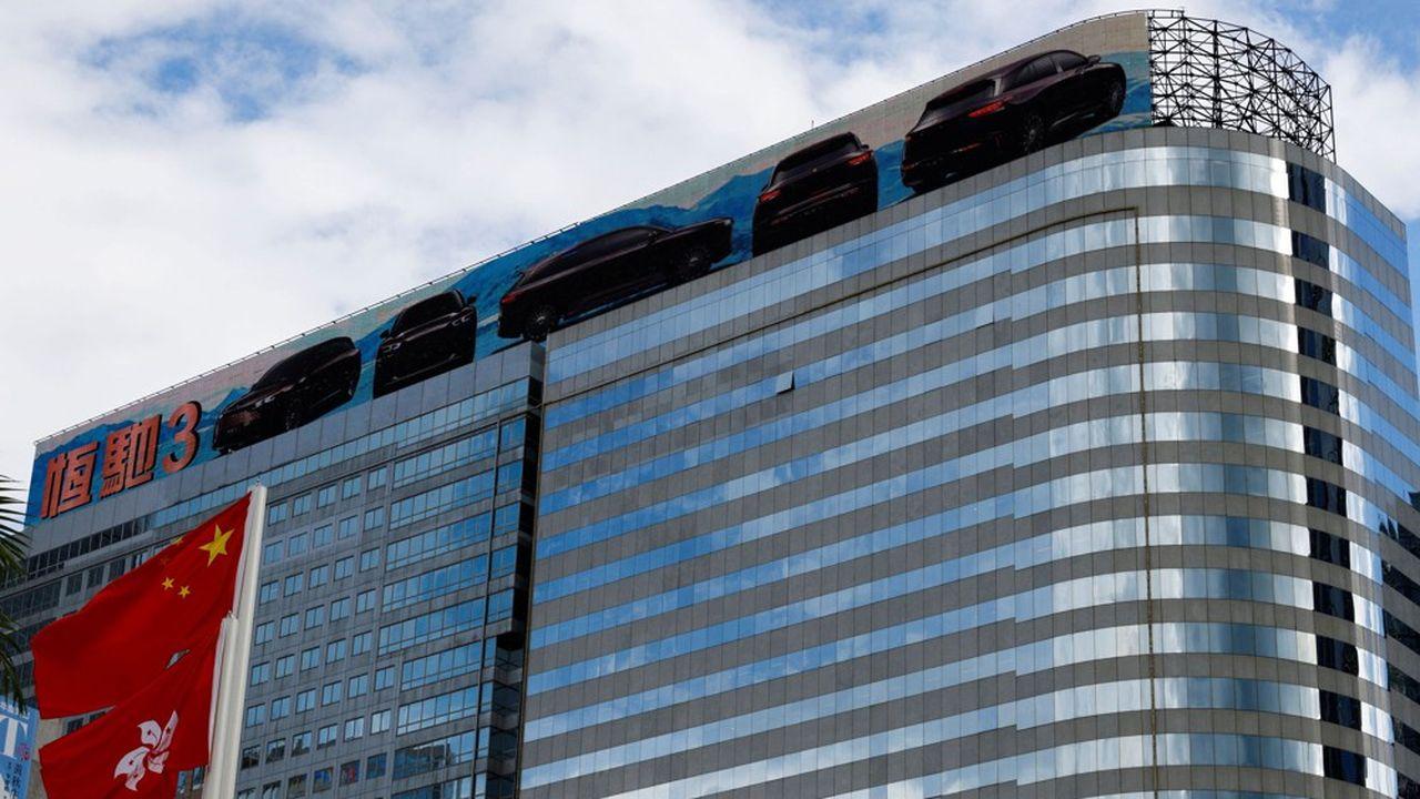 Evergrande a emprunté massivement pour financer son expansion.
