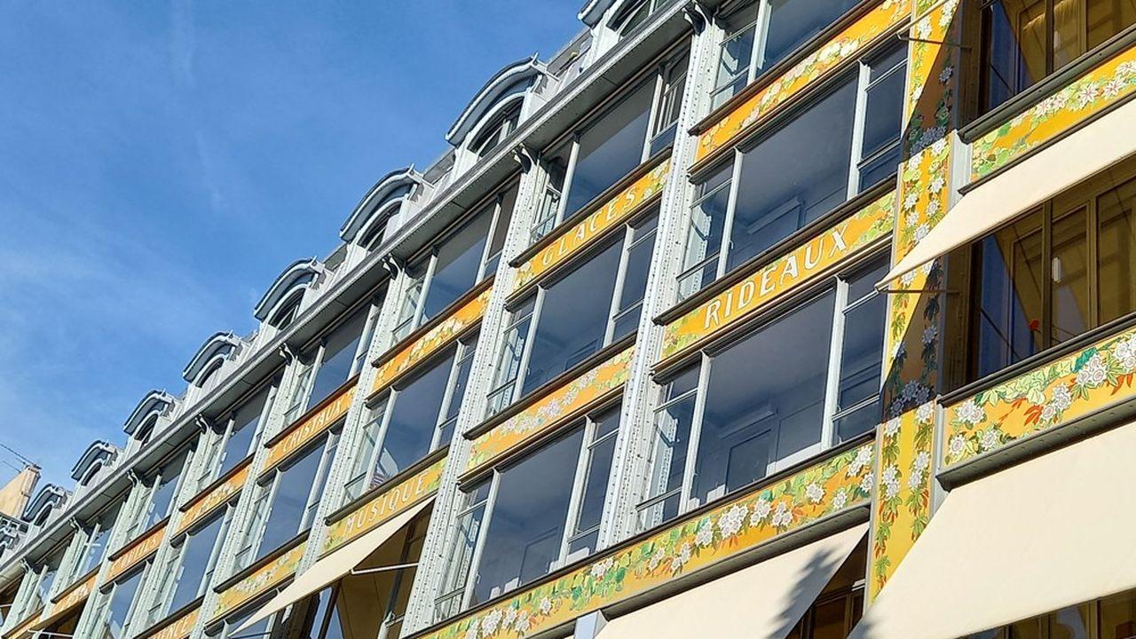 Les logements sociaux de la Samaritaine sont situés rue de l'Arbre sec.