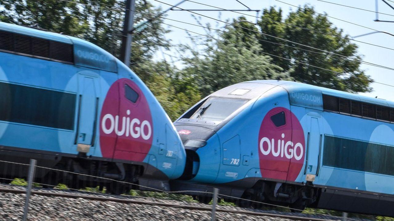 Les TGV Ouigo circulent depuis huit ans en France, et ont transporté plus de 70millions de voyageurs.