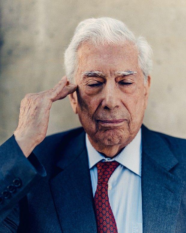 Mario Vargas Llosa, «un homme libre qui veut garder sa liberté de jugement», selon son traducteur.