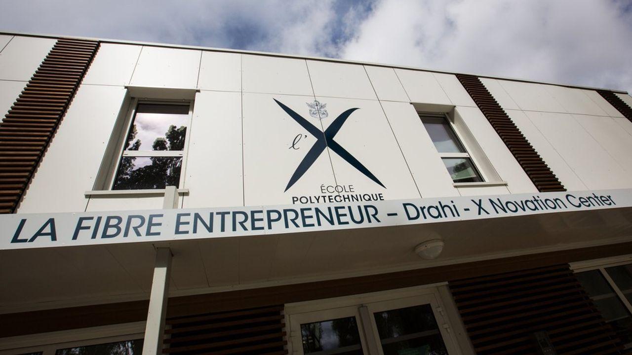 Le Drahi X - Novation Center, incubateur de Polytechnique.