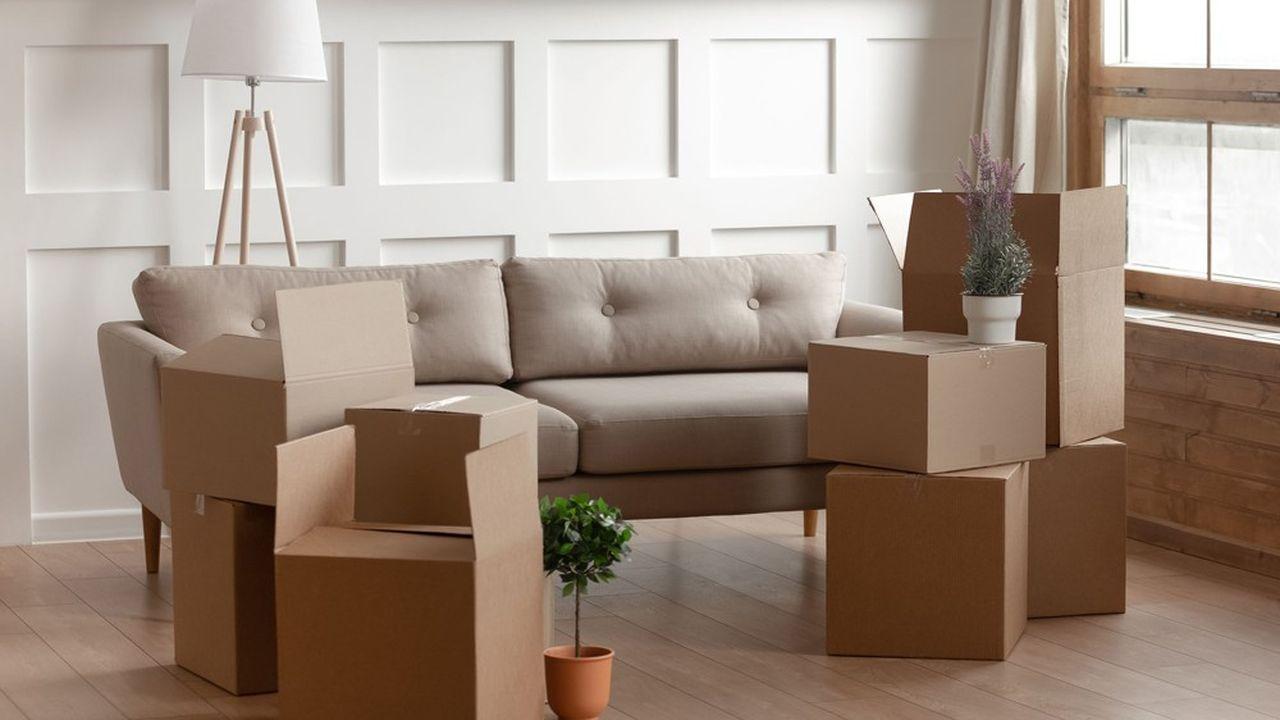 Le montant du loyer d'un meublé est plus élevé que celui d'un appartement nu.