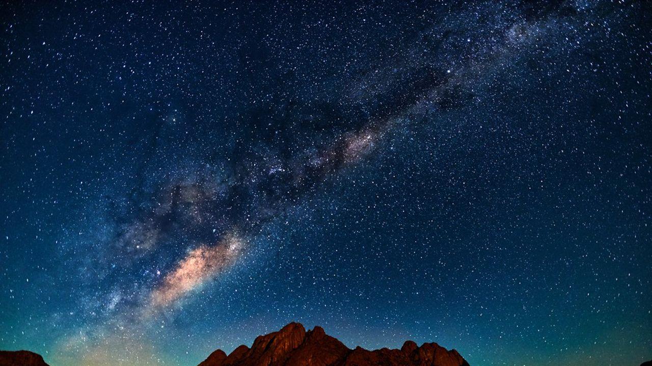 «La longue existence de la Voie lactée n'a pas été de tout repos; elle est notamment entrée en collision avec une autre galaxie, il y a 10milliards d'années.»