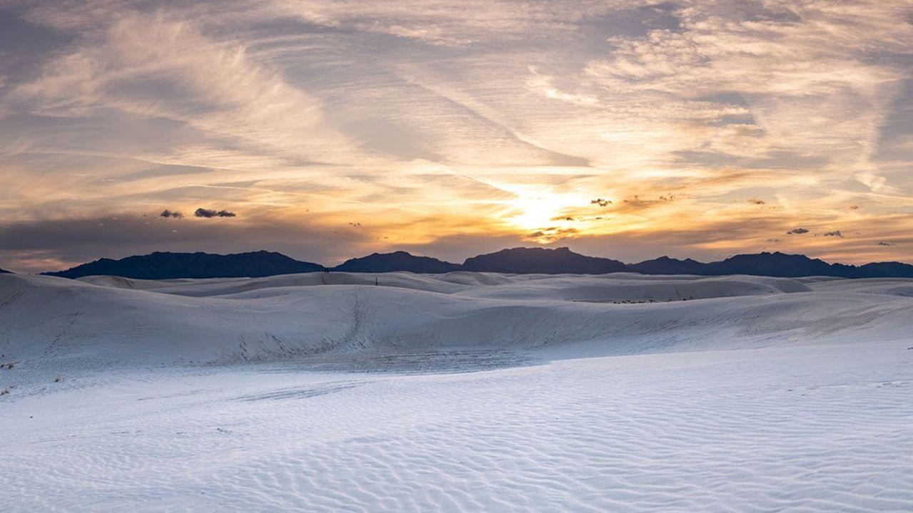 Des traces de pas vieilles d'au moins 21.000ans ont été découvertes dans le désert américain de White Sands, au Nouveau-Mexique.
