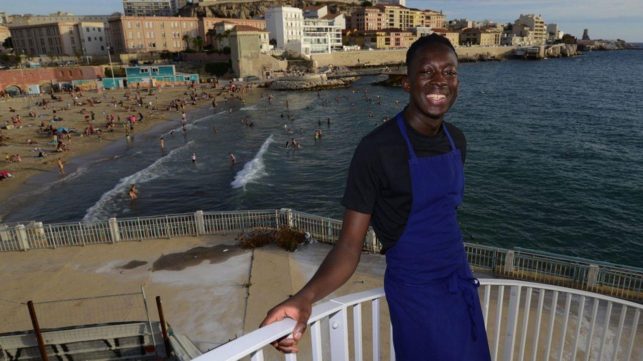Mory Sacko au Cercle des Nageurs de Marseille appartient à cette génération de chefs pointus, hors des codes de la gastronomie traditionnelle.