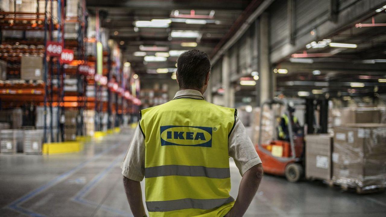 En France, Ikea connaît un taux de rupture d'approvisionnement de 15% pour les petits produits et de 5% pour les meubles.