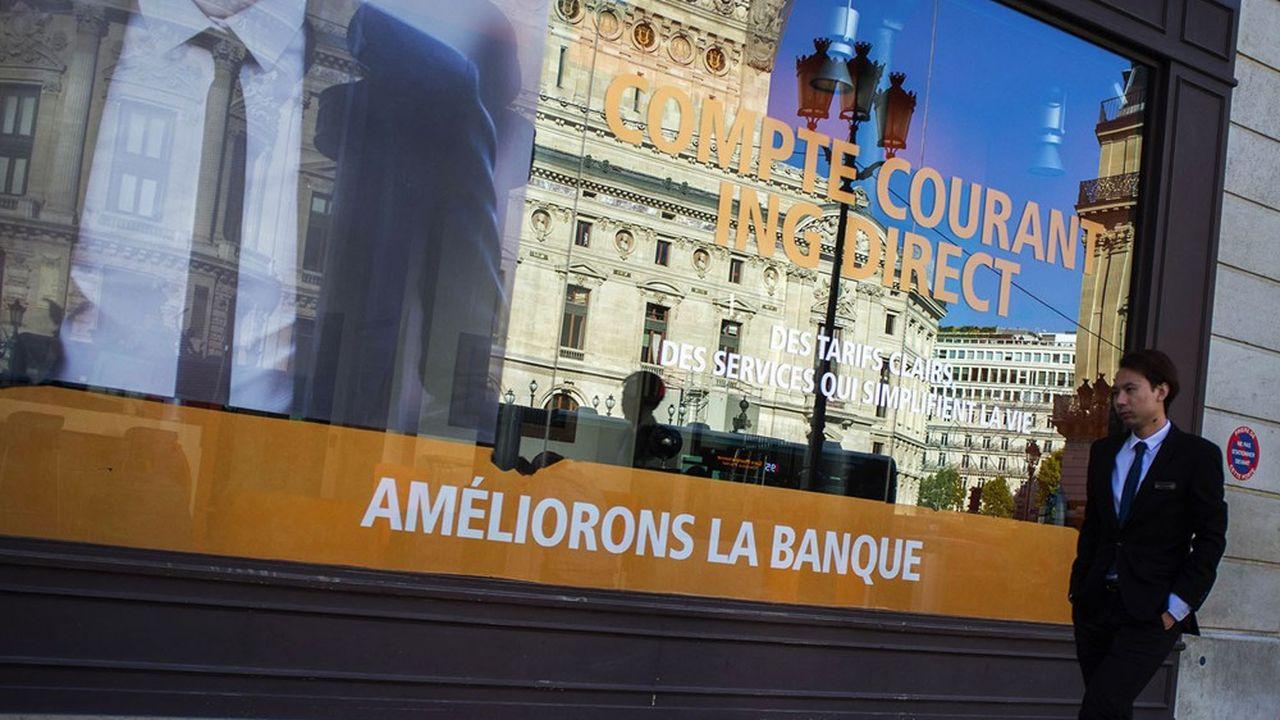 Le portefeuille de clients d'ING France est estimé autour d'un million de personnes.