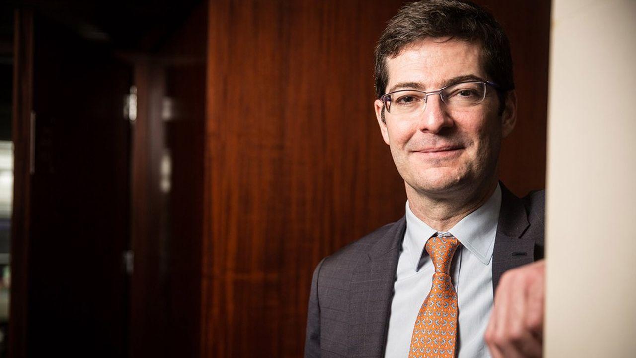 Nicolas Théry est le président de la Confédération nationale du Crédit Mutuel. Il occupe la présidence tournante de la FBF depuis le 1erseptembre.