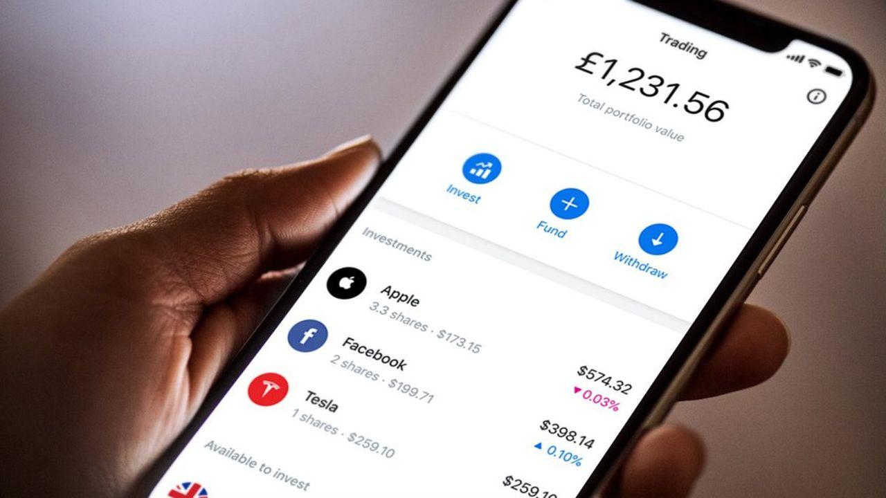 La fintech britannique propose déjà à ses clients britanniques du trading zéro commission.