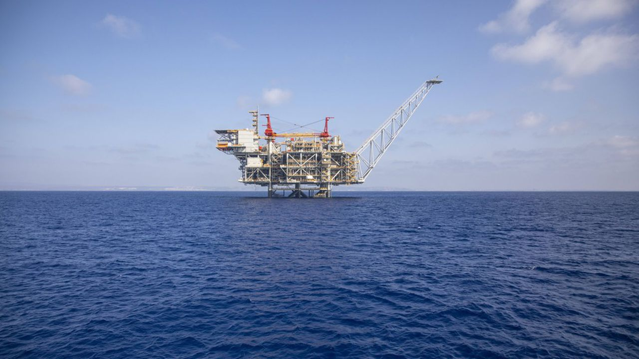 Le marché du gaz naturel (ici, le champ pétrolier offshore «Leviathan» près des côtes israéliennes) a connu un net regain de volatilité en septembre.