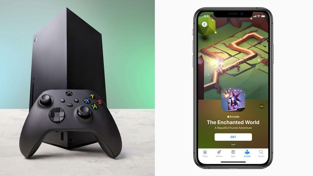 En2019, le groupe à la pomme s'est lancé dans la SVoD ainsi que dans le jeu vidéo via Arcade, une offre proposant des titres sur mobile.