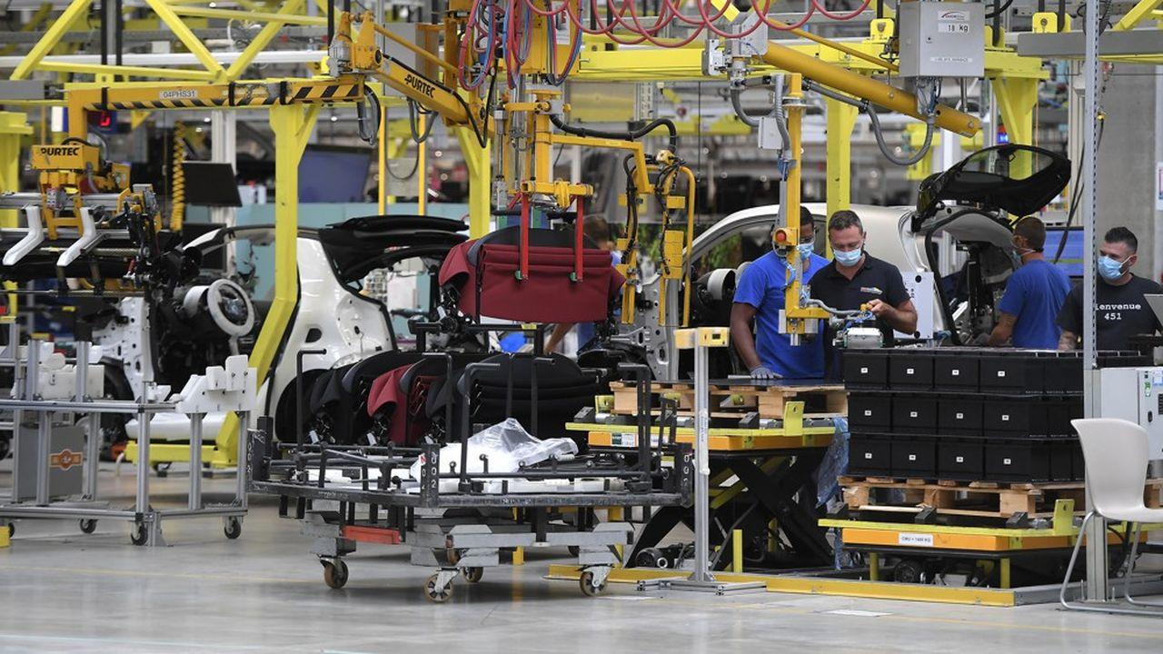 Certains secteurs, comme l'automobile, ont connu une hausse proche ou supérieure à 10% sur un mois de leur production.