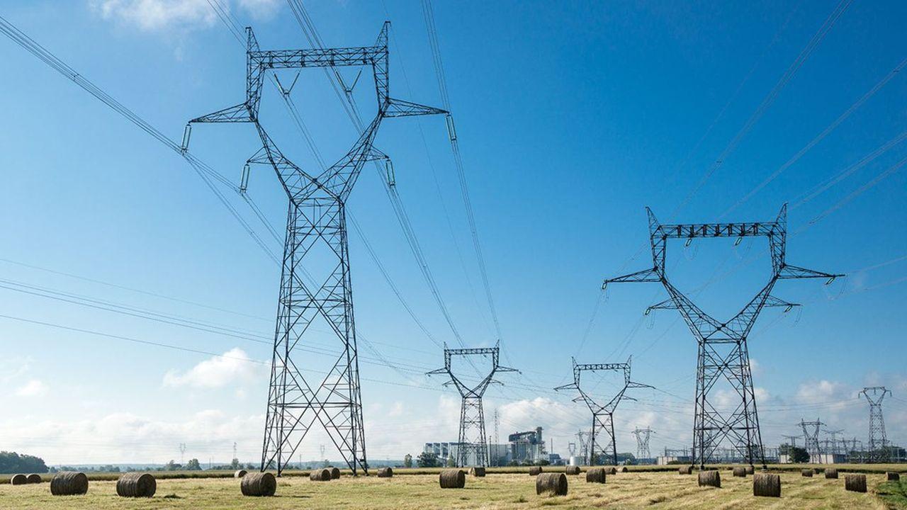 La flambée des cours de l'électricité s'explique principalement par l'explosion des cours du CO2.