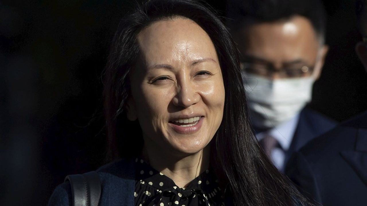 Meng Wanzhou, directrice financière de Huawei Technologies, le 24septembre.