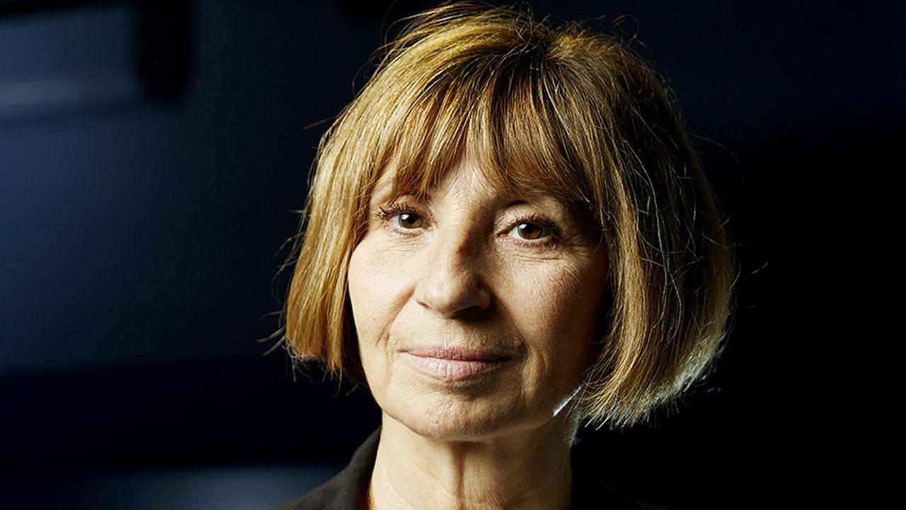 La comédienne Ariane Ascaride.