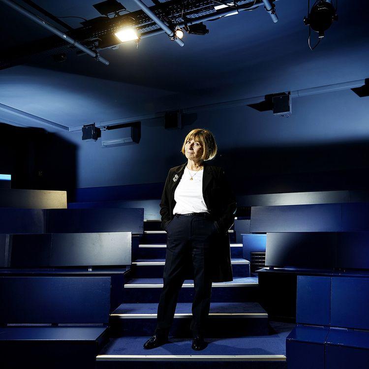 Ariane Ascaride à la Piccola Scala où se joue «Paris retrouvée».