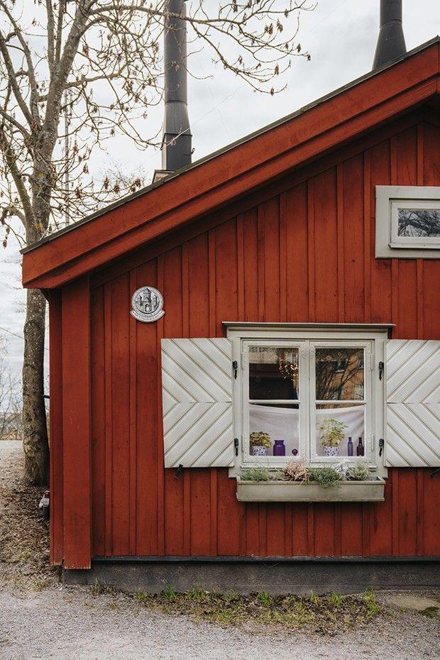 Le parc de Vitabergsparken, sur l'île de Södermalm, abrite des maisons du XIXe siècle.