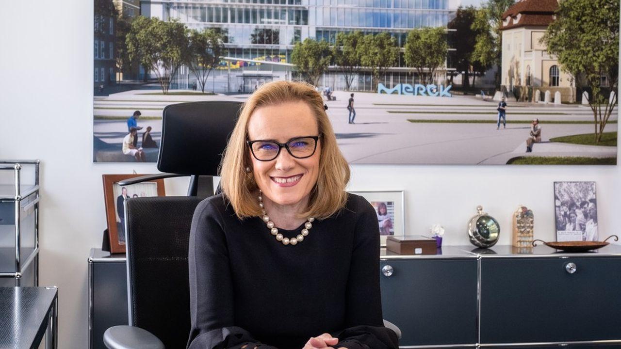 L'Espagnole Belén Garijo a pris la tête de l'entreprise pharmaceutique allemande Merck en mai 2021.