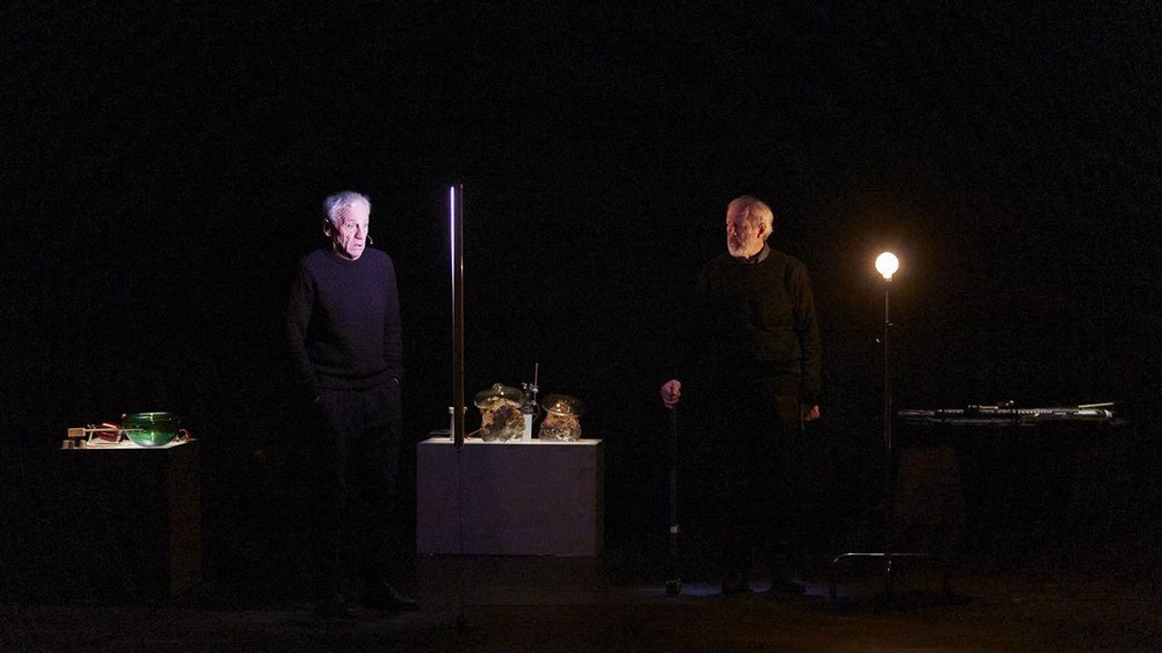 A l'Athénée, l'ensemble Le Balcon s'empare de « Words and Music » un de texte Samuel Beckett mis en musique par Pedro Garcia Velasquez.