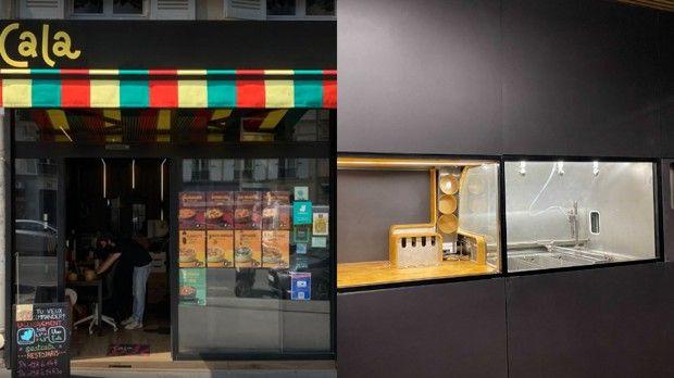 Le restaurant Cala dans le 5ème arrondissement de Paris.