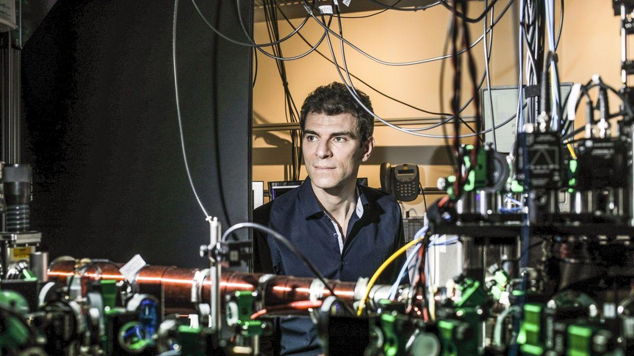 Georges Olivier Reymond est le patron de Pasqal, une start up spécialisée dans l'informatique quantique.