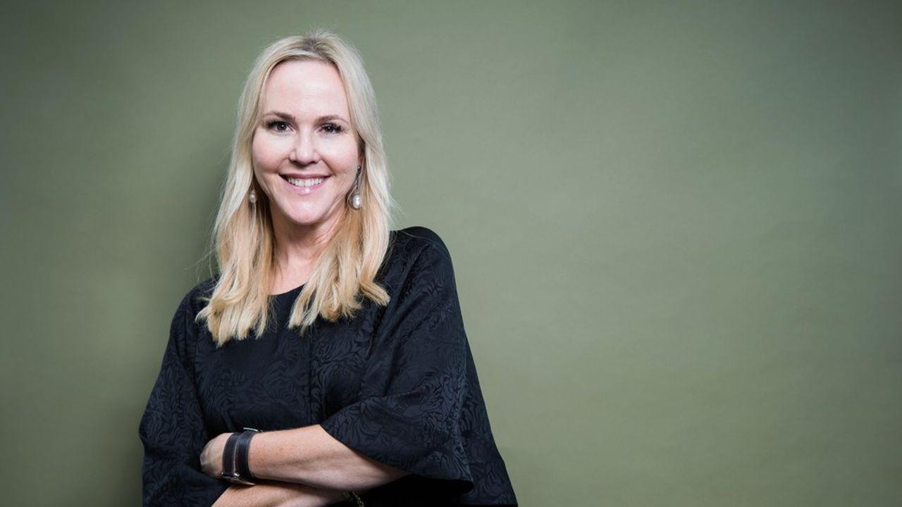 La romancière suédoise Camilla Grebe.
