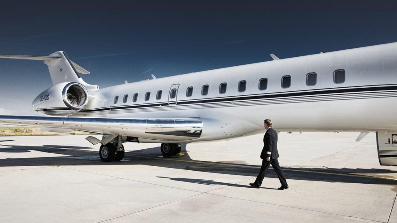 Les grands jets d'affaires haut de gamme ont le vent en poupe.