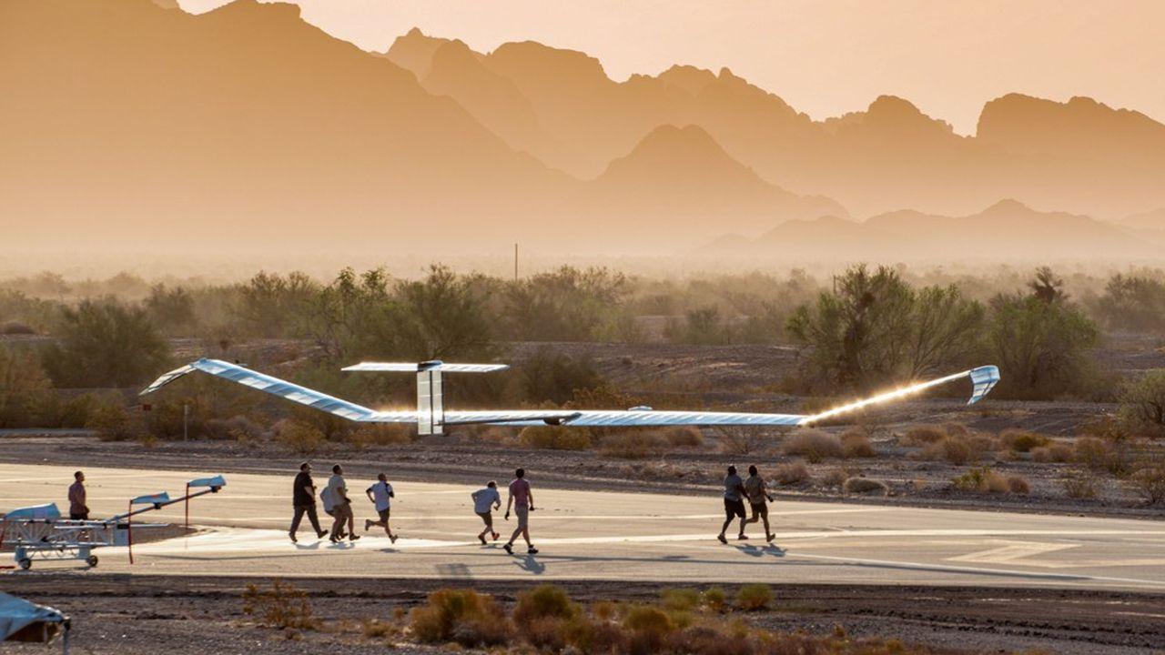 Le Zephyr a réalisé six vols cet été en Arizona, afin de démontrer le potentiel d'utilisation de la stratosphère pour l'observation ou la communication, dans les domaines militaires ou civils.