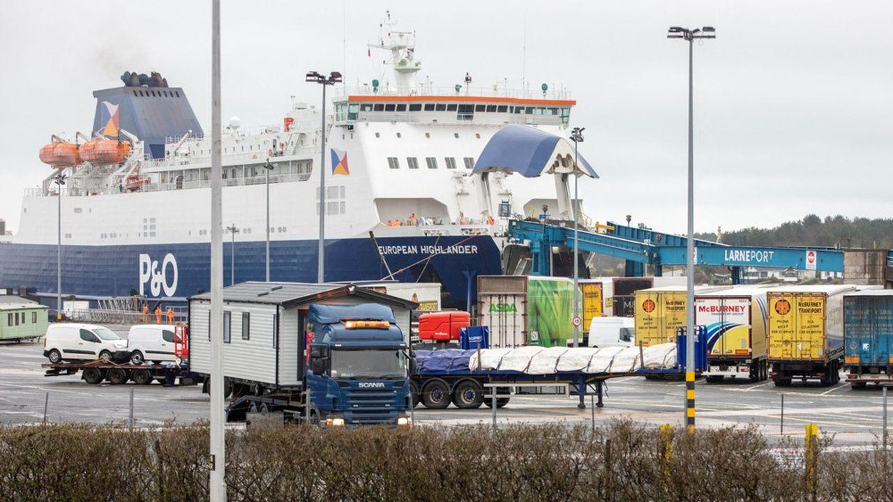 Les contrôles douaniers en mer d'Irlande ont contribué à renforcer les liens commerciaux entre la République d'Irlande et l'Irlande du Nord.