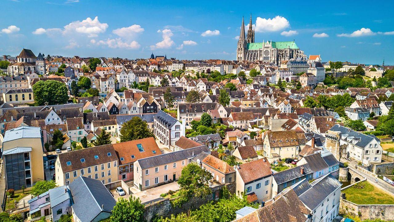 A Chartres, le taux de la taxe foncière a progressé de +15,6%, ce qui fait figurer la ville au palmarès des plus fortes hausses.