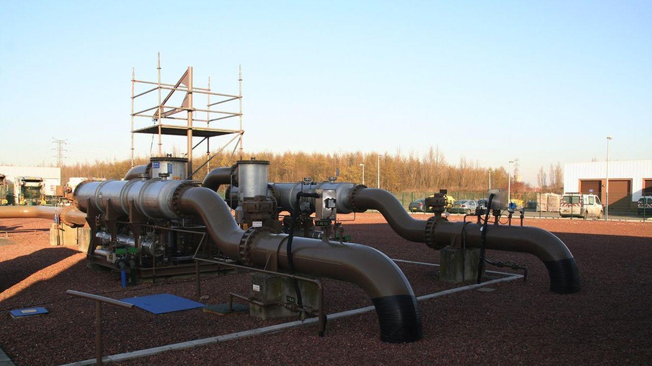 L société gère plusieurs captages de gaz depuis son siège à Avion (Pas-de-Calais).