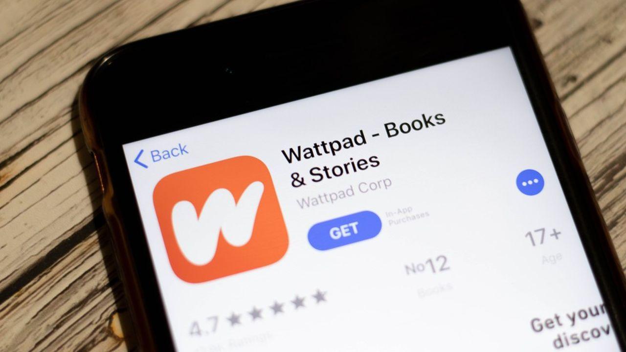 Lancé en2006, Wattpad est une plateforme d'écriture et de partage de lecture qui a été rachetée 600millions de dollars en début d'année par Naver, le «Google coréen».