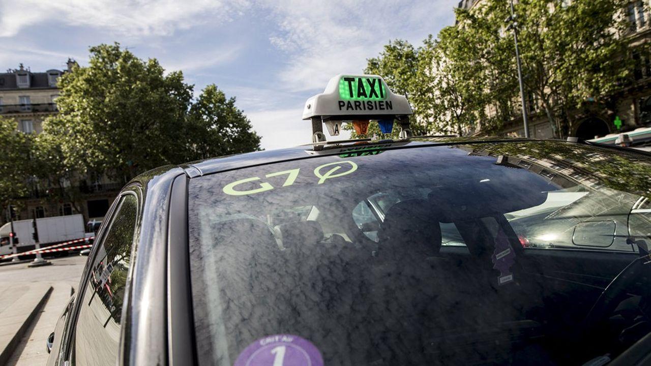 Au total, 18.000 taxis circulent dans la capitale, dont la moitié travaille partiellement ou majoritairement avec G7.