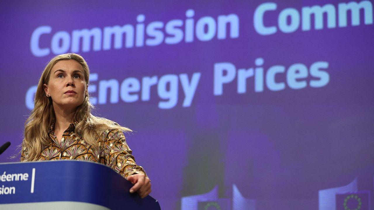 La commissaire à l'Energie, Kadri Simson, a estimé mercredi que les stocks de gaz restaient suffisants en Europe pour «couvrir les besoins hivernaux».
