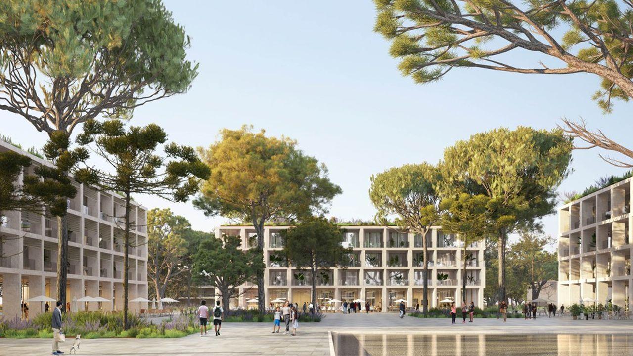 La Zac Mas Lombard est un projet d'écoquartier situé à Nîmes. Les travaux devraient commencer en 2023