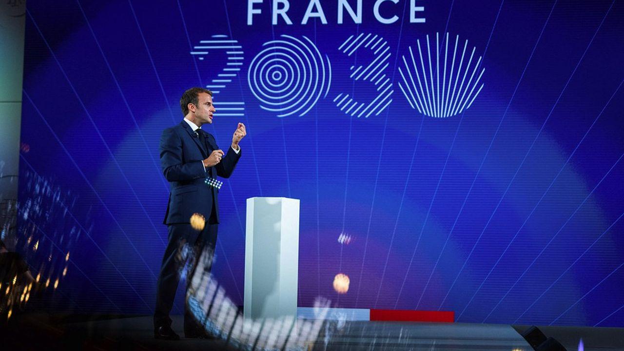 En présentant longuement son plan France 2030, Emmanuel Macron a martelé sans le nommer les mérites d'Elon Musk, l'homme qui a secoué àlui tout seul l'automobile et le spatial.