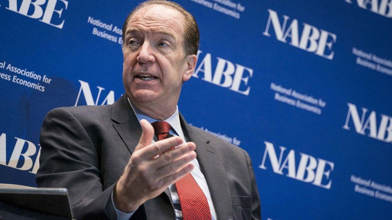 Pour le président de la Banque mondiale, David Malpass, il est urgent d'agir pour offrir des marges de manoeuvre budgétaire aux pays pauvres.