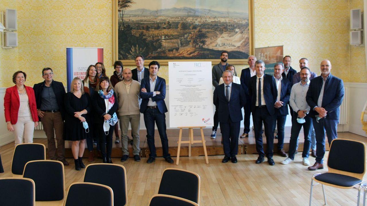 Le « club départemental des entreprises s'engagent » du Haut-Rhin compte désormais 21 membres